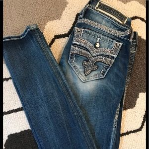 Rock Revival Straight Maaje Jeans Size 25